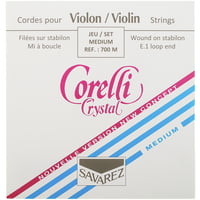 Corelli : Crystal 700M Violin Strings