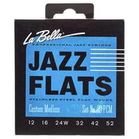 La Bella : 20PCM Jazz Flats FWSS