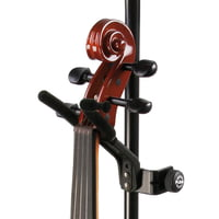 K&M : 15580 Violin Holder BK