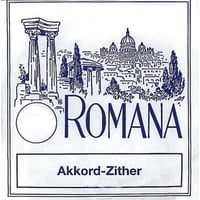 Romana : Akkordzither Strings D4 Akkord