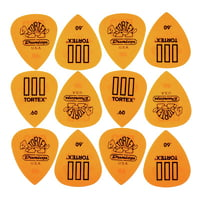 Dunlop : Tortex III Riffle 060 Pack