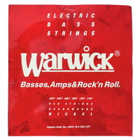Warwick : 46401 Red Strings Nickel