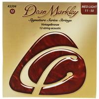 Dean Markley : 2204ML12string Bronze Acoustic