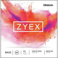 Daddario : DZ610-3/4M Zyex Bass 3/4