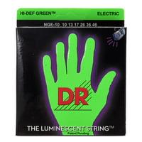 DR Strings : HiDef Neon Green Medium NGE-10