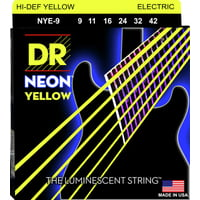DR Strings : DR NEON Hi-Def Yellow - NYE- 9