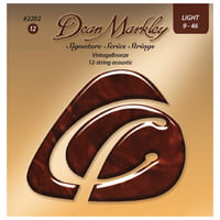 Dean Markley : 2202LT12string Bronze Acoustic