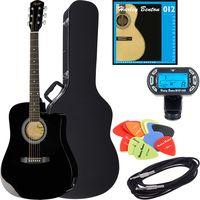 Fender : Squier SA-105CE BK Bundle