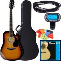 Fender : Squier SA-105CE SB Bundle 2