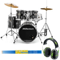 Millenium : MX218BX Combo Set BK Bundle