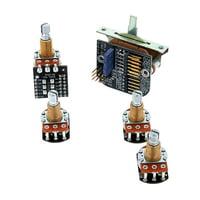 EMG : 3 Pickups Push/Pull Wiring Kit