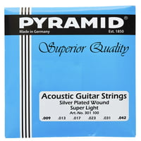 Pyramid : Acoustic Silver Set