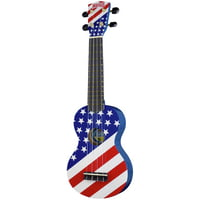 Mahalo : USA Flag Ukulele