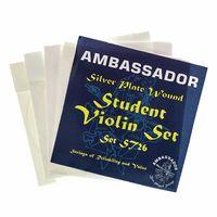 Ambassador : Violin Student Silver Plate