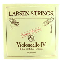 Larsen : Cello Single String C Soft