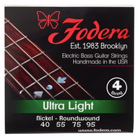 Fodera : 4-String Set Nickel Ultralight
