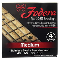 Fodera : 4-String Set Standard Steel