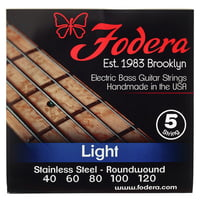 Fodera : 5-String Set Light Steel