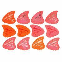 Sharkfin : Pick Goldprint Soft Red