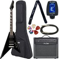 Harley Benton : R-10 BK Rock Series Bundle 1