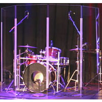 Clearsonic : Lite 2466x5 Drum Shield