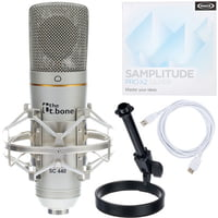 the t.bone : SC 440 USB Podcast Bundle 2