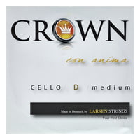 Crown By Larsen : Cello String D Medium 4/4