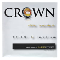 Crown By Larsen : Cello String G Medium 4/4