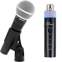 Shure : SM58 LC USB Bundle