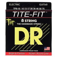DR Strings : Tite TF 8-10 8-String Set