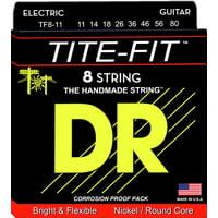 DR Strings : Tite TF 8-11 8-String Set