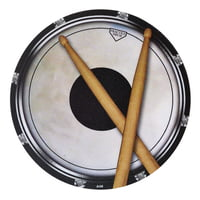 Music Sales : Mouse Pad Drum Head And Sticks