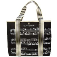 Music Sales : Bag With Treble Clef/Sheet Mus