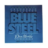 Dean Markley : 2038 Medium Western Blue Steel