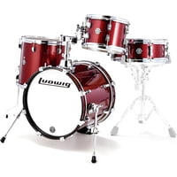 Ludwig : Breakbeats Wine Red Sparkle