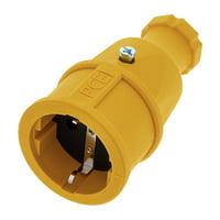 PCE : Rubber Safety Socket EU Ye