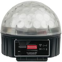 Showtec : Disco Star 3x 3 Watt RGB Ball