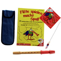 Streetlife Music : Soprano Recorder Set Red