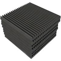 EQ Acoustics : Classic Wedge 60 Tile grey