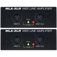 JL Cooper : MLA XLR Midi Line Amp Set