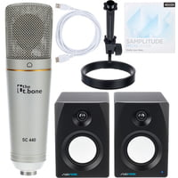 the t.bone : SC 440 USB Podcast Bundle 2+