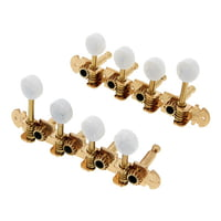 Harley Benton : Parts Mandolin Key Set Gold