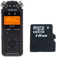 Tascam : DR-05 16 GB Bundle