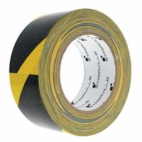 Stairville : Cloth Warning Tape B/Y