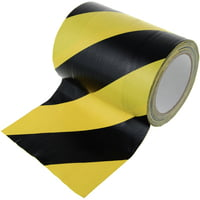 Stairville : 686 Tunnel Tape Black/Yel