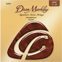 Dean Markley : Vintage Bronze 2002A LT 11-52