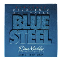Dean Markley : DM 2562 A Med 7STR Blue Steel