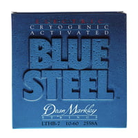 Dean Markley : DM 2558 A LTHB 7str Blue Steel