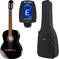 Thomann : Classic 4/4 Guitar Blac Bundle
