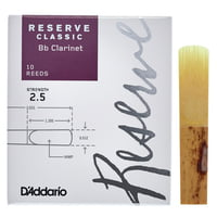 DAddario Woodwinds : Reserve Clarinet Classic 2,5